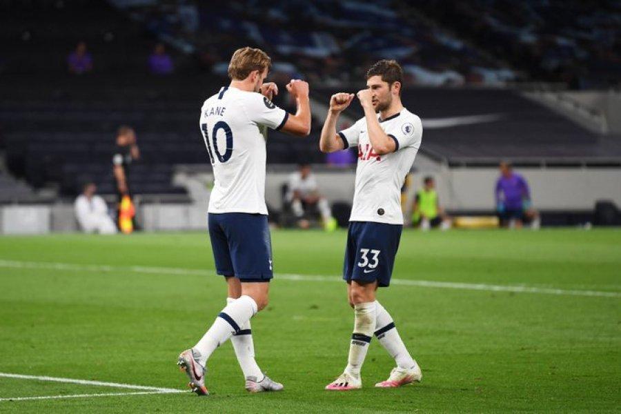 Buzëqesh Mourinho, Tottenham rikthehet te fitorja