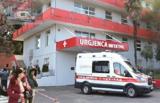 Situatë shqetësuese tek Infektivi, 90 të shtruar nga 120 shtretër në total, 5 pacientë të intubuar
